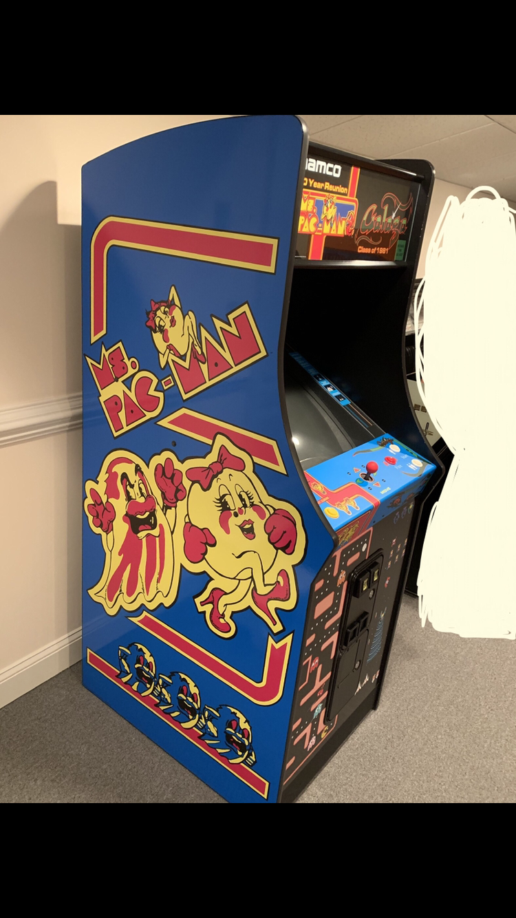 For Sale Ms Pacman Galaga